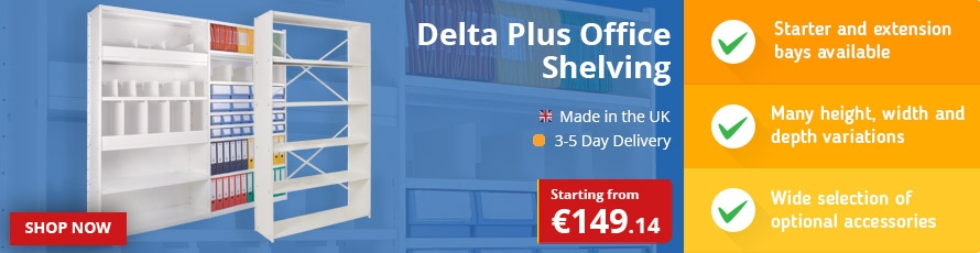 Delta Plus Office Shelving